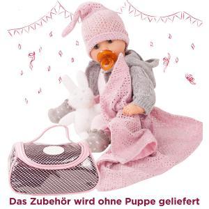 Gotz - 3402832 - Ensemble bébé, cosy rabbit, 10 pièces pour bébés de 30-33cm (342438)