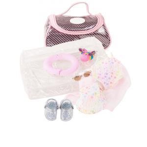 Gotz - 3402833 - Ensemble bébé, splish splash, 9 pièces pour bébés de 30-33cm (342440)