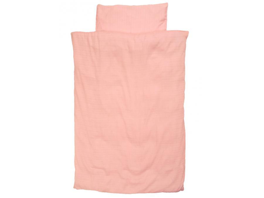 Taftan housse de couette organic hydrophil cotton pink - Housse de couette 100x135 ...
