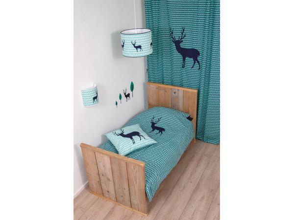Taftan housse de couette blue deer blue green 120 x 150 for Housse de couette 120 x 150