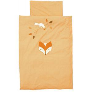 Taftan - DL-524 - Housse de couette fox and raven orange 140 x 200 (342732)