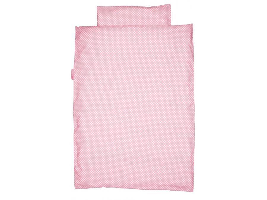 Taftan housse de couette polkadots pink 100 x 135 - Housse de couette 100x135 ...