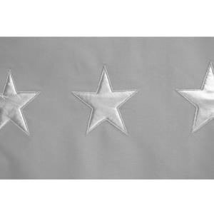 Taftan - DL-210 - Housse de couette stars silver grey 140 x 200 (342764)