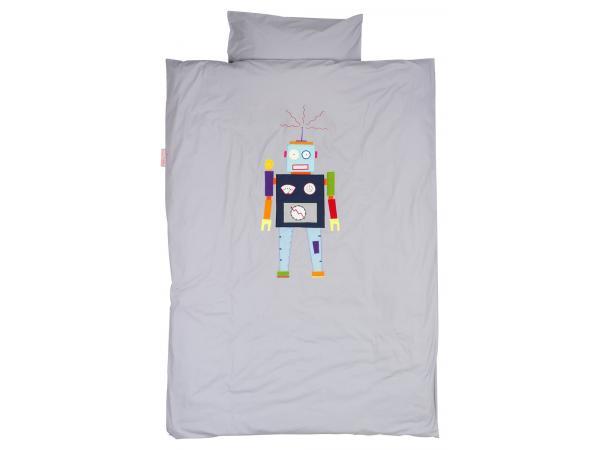 Housse de couette robot grey 120 x 150