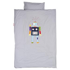Taftan - DM-3910 - Housse de couette robot grey 120 x 150 (342806)