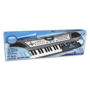 Bontempi - 154911 - Clavier 49 touches + housse + prise USB (344152)