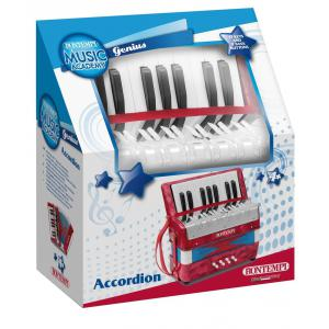 Bontempi - 331730 - Accordéon bois 17 touches + 8 basses (344192)