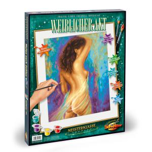 Schipper - 609130742 - Peinture aux numeros - Female nude - Taille 40 x 50 cm (344242)