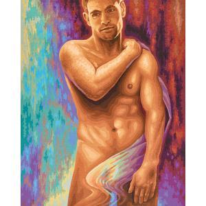 Schipper - 609130753 - Peinture aux numeros - Male Nude - Taille 40 x 50 cm (344246)