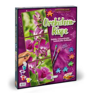 Schipper - 609470739 - Peinture aux numeros - Orchid stem - Taille 40 x 50 cm (344260)