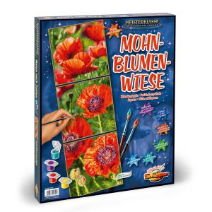 Schipper - 609470740 - Peinture aux numeros - Blooming poppies - Taille 40 x 120 cm (344262)