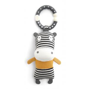 Mamas and Papas - 7558Y2703 - Activity Toy - Mini Linkie Zebra Babyplay (346384)