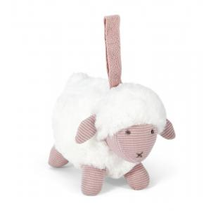 Mamas and Papas - 485535008 - Soft Toy - Chime Sheep Pink Welcome To The World (346494)