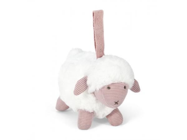 Soft toy - chime sheep pink welcome to the world