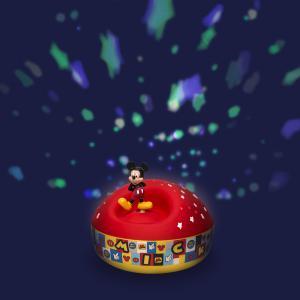 Trousselier - 5200 - Veilleuse - Projecteur d'Etoiles Musical Mickey© 12 Cm - Piles Inclues (346710)