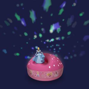 Trousselier - 5300 - Projecteur d'Etoiles Musical Disney Princess - 12 cm - Cendrillon (346712)