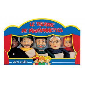 JB Bois - M520 - Coffret de 5 marionnettes (346840)