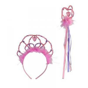 Travis - TWST - Accessory Set - Tiara & Wand pink/lilac -3 ans et plus (346950)