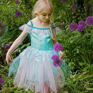 Travis - AQF6 - Costume Aqua Fairy aqua/blue/pink - 6 à 8 ans (347012)