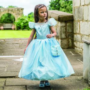 Travis - BLS6 - Costume Blue Shimmer Princess blue/silver - 6 à 8 ans (347078)