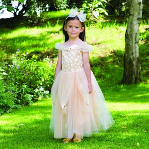 Travis - GOPR9 - Costume Golden Princess gold - 9 à 11 ans (347232)