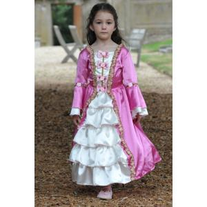 Travis - MA6 - Costume Marie Antoinette mid pink - 6 à 8 ans (347248)