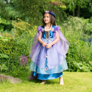 Travis - ORC6 - Costume Orchid Flower Maiden purple/blue - 6 à 8 ans (347280)