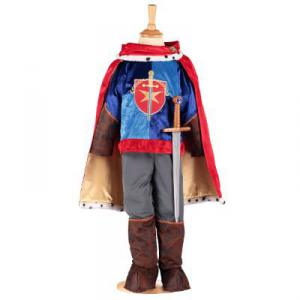 Travis - PRN6 - Costume Prince red/gold/blue - 6 à 8 ans (347318)