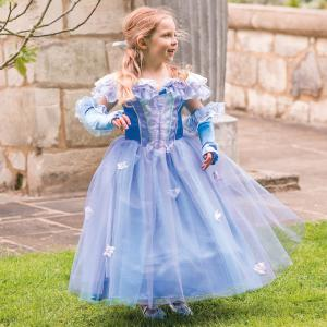 Travis - PRFL3 - Costume Princess Fleur blue/lilac - 3 à 5 ans (347322)