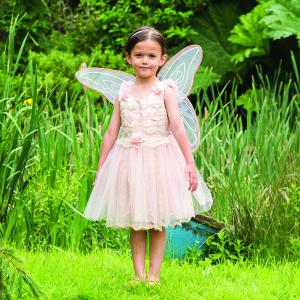 Travis - VIF3 - Costume Vintage Fairy with Wings peach - 3 à 5 ans (347440)