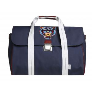 Jeune Premier - h16009 - Sac Weekend Navy Tiger - Dimensions : 37x46x26 cm, finition cuir (348244)