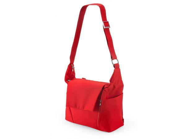 stokke nouveau sac langer rouge pour poussette stokke avec deux modes de portage. Black Bedroom Furniture Sets. Home Design Ideas