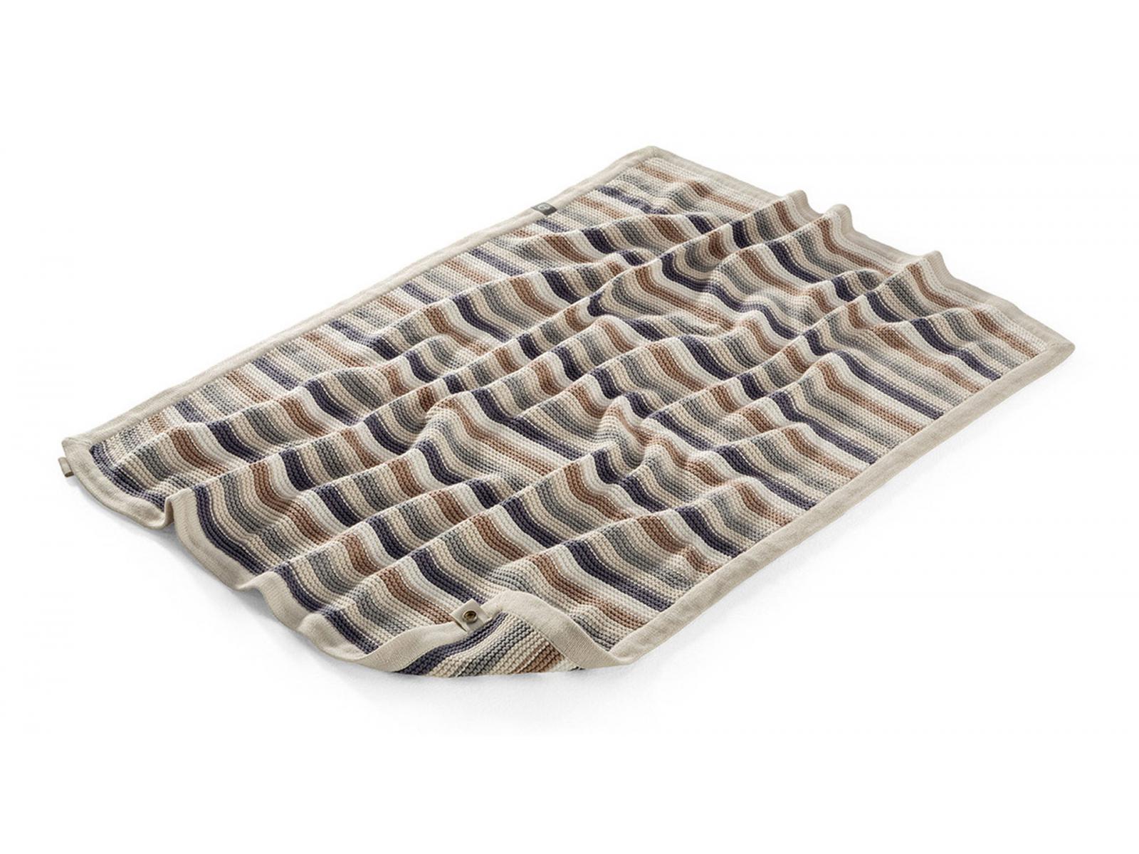 stokke couverture plaid en coton stokke horizon. Black Bedroom Furniture Sets. Home Design Ideas