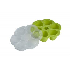 Beaba - 912454 - Multiportions silicone 6 x 90 ml neon (348986)