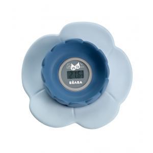 Beaba - 920304 - Thermomètre de bain Lotus grey/blue (349214)