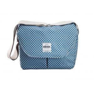 Beaba - 940207 - Sac Vienne II PLAY PRINT blue (349308)