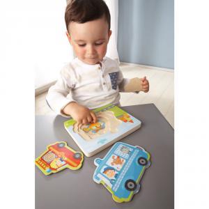 Haba - 302534 - Puzzle en bois Pin pon Pin pon ! (349678)