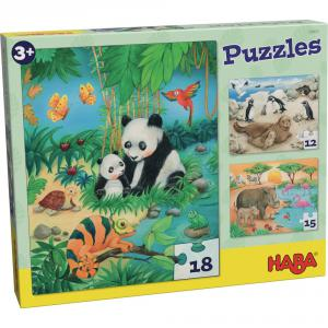 Haba - 302631 - Puzzles Familles d'animaux (349776)