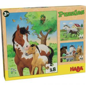 Haba - 302690 - Puzzles Chevaux (349806)