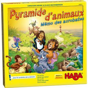 Haba - 302813 - Pyramide d'animaux – Mémo des acrobates (349874)