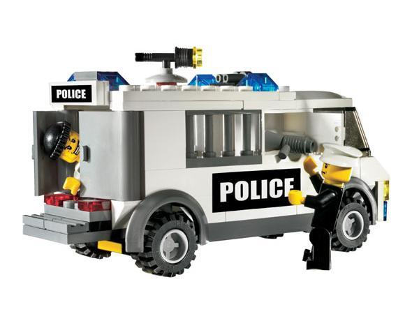 Lego le transport des prisonniers - Lego city camion police ...