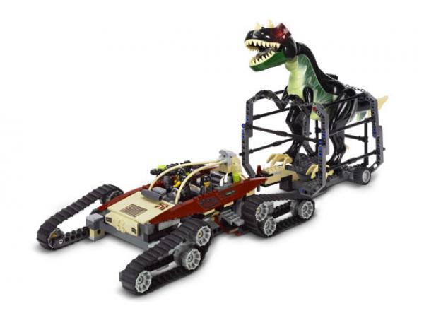 Lego la traque du dinosaure - Jeux lego dino ...