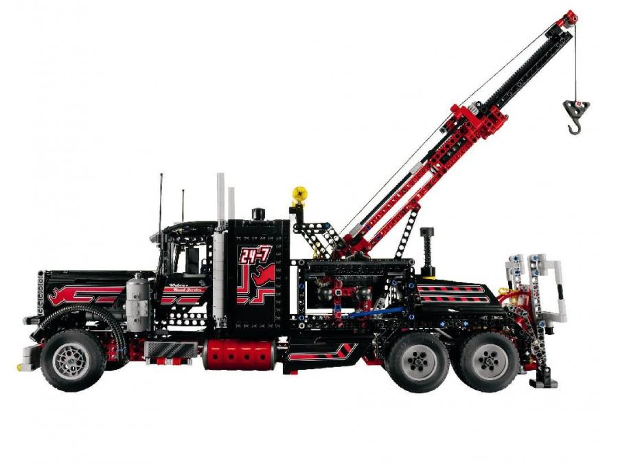 lego technic camion remorque geant tracteur agricole. Black Bedroom Furniture Sets. Home Design Ideas