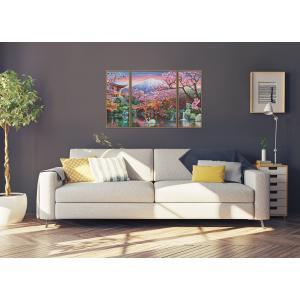 Schipper - 609260751 - Peinture aux numéros - La floraison des cerisiers au Japon 50x80cm (350224)