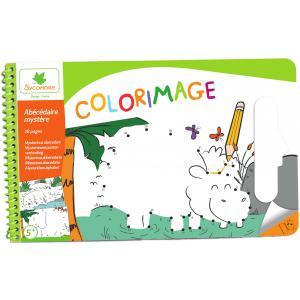 Au Sycomore - CRE6054 - Colorimage Pad Abécédaire Mystère (350248)