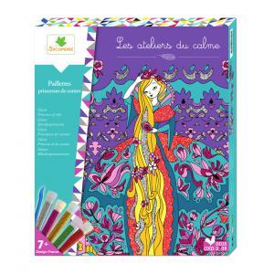 Au Sycomore - CREH500 - Paillettes princesses de contes (350288)
