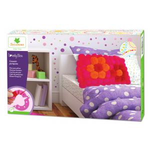 Au Sycomore - CRE5210 - Lovely box xl coussin en pompons (350340)