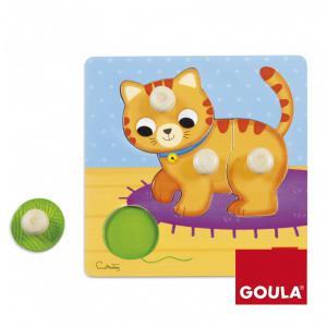 Goula - 53053 - Puzzle Chat(22x22cm) (351478)