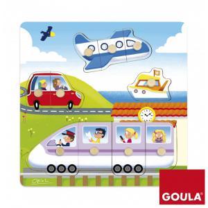 Goula - 53047 - Puzzle Voyage(28x28cm) (351484)