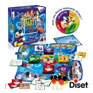 Diset - 46598 - Party & co disney français 3.0 (351548)